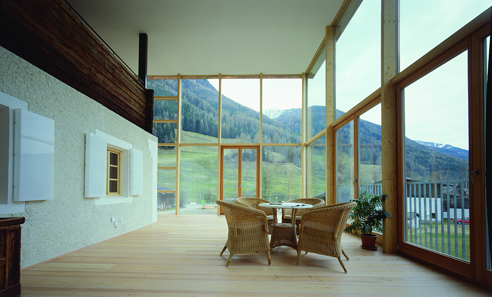 Costruzione di case in legno carpenteria oberhammer for Costruzione di case americane